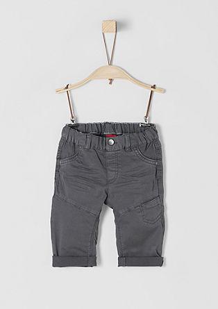 Jeans mit Abnähern
