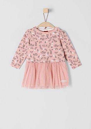 Letní šaty s tylovou sukní