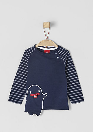 Long sleeve top with a fun ghost motif from s.Oliver
