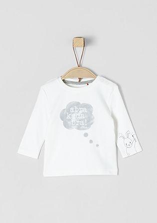 Shirt met lange mouwen en leuke print