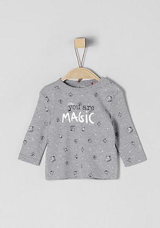 Longsleeve met print all-over