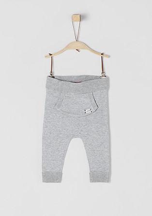Fijngebreide broek