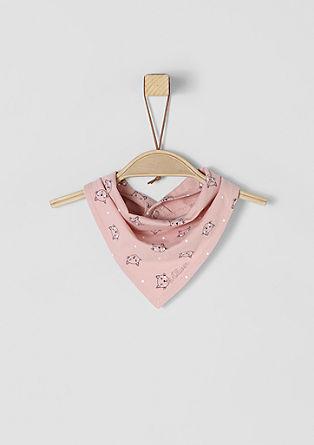 Jersey sjaaltje met print