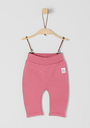 Pohodlné kalhoty zteplákoviny