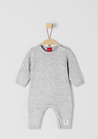 Lightweight fine knit romper suit from s.Oliver