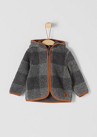 Teddy plush sweatshirt jacket from s.Oliver