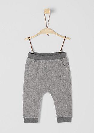 Hebké joggingové kalhoty