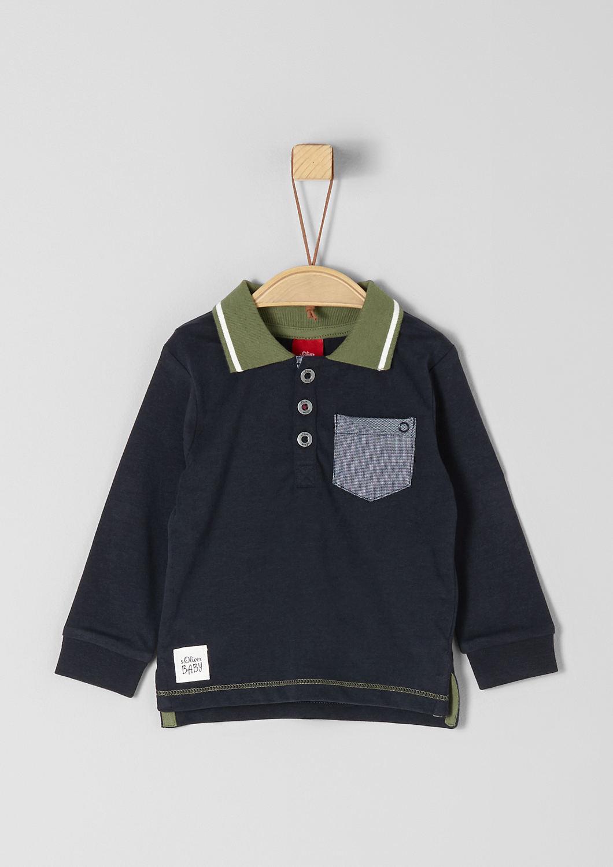 ef9eb8bff7b Polo met borstzak bestellen | s.Oliver Online Shop