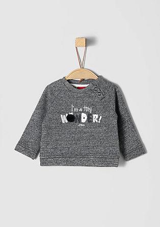 Statement-Sweater mit Artwork