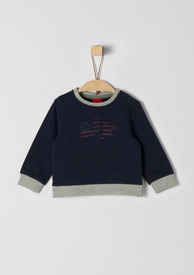 Sweat-shirt animé d'un élément artistique de s.Oliver