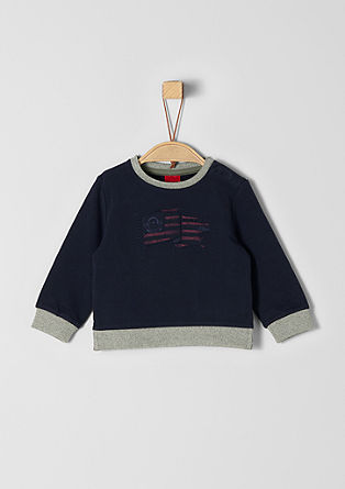 Sweatshirt with artwork from s.Oliver