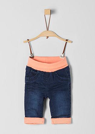 Podložene jeans hlače