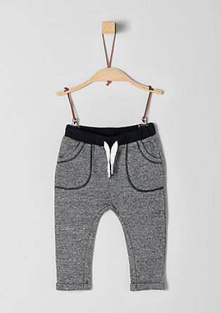 Melierte Jogging Pants
