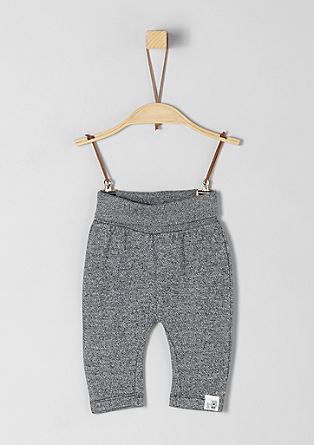Melierte Sweatpants