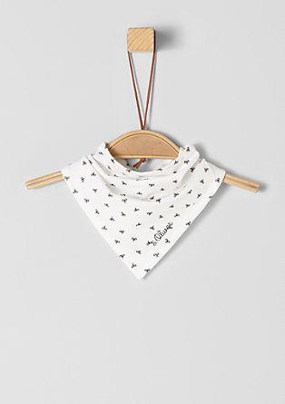 Dreieckstuch mit Muster