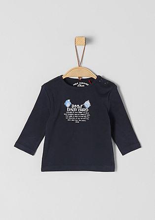T-shirt à manches longues et imprimé devant de s.Oliver