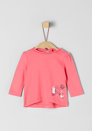 T-shirt à manches longues et ruches de s.Oliver