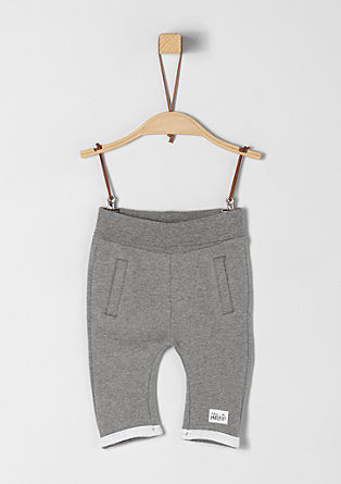 Joggingové kalhoty z froté