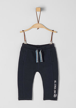 Tracksuit bottoms with lettering from s.Oliver