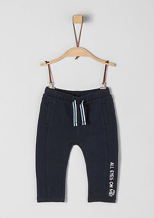 Jogging Pants mit Schriftzug