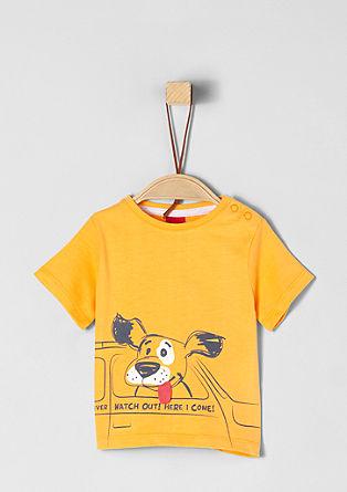 T-Shirt mit Hunde-Artwork