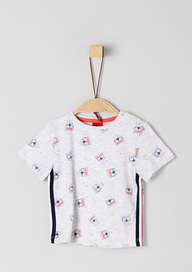 Multi-print T-shirt from s.Oliver