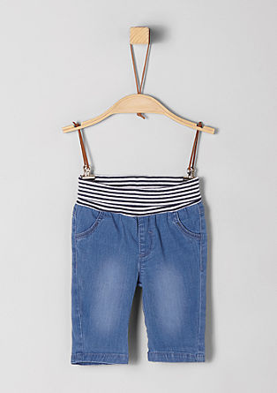 Jeans with a comfortable waistband from s.Oliver