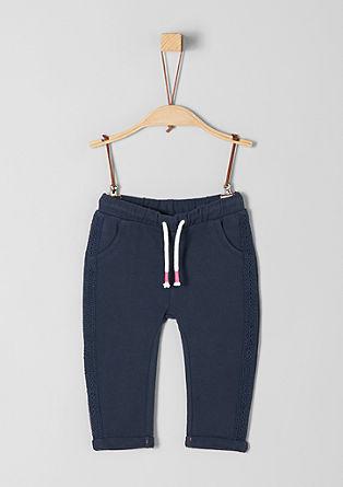Pantalon de jogging à broderie anglaise de s.Oliver