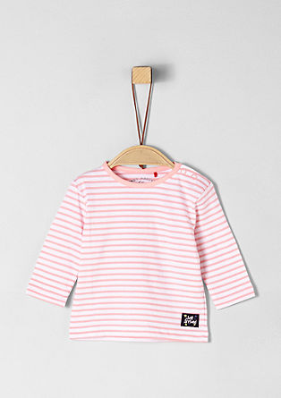 Striped jersey top from s.Oliver