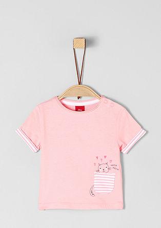 T-shirt met een leuke motiefprint