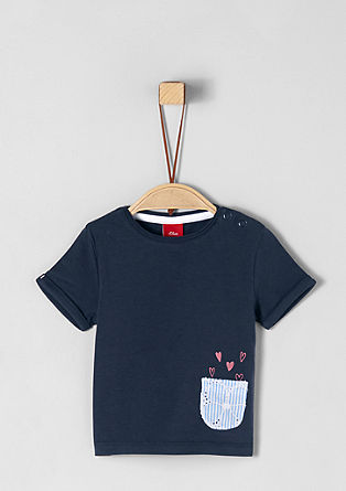 T-shirt with a cute, printed motif from s.Oliver