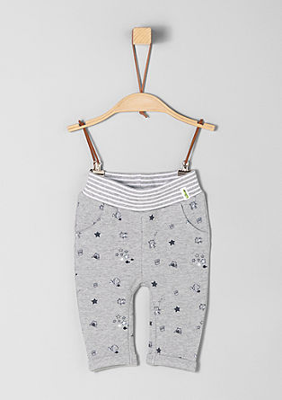 Tracksuit bottoms with comfort waistband from s.Oliver