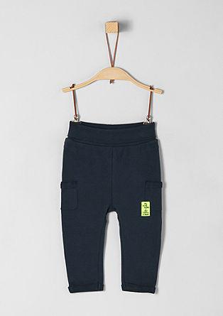 Športne hlače z udobnim robom v pasu