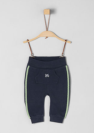 Tracksuit bottoms with kangaroo pocket from s.Oliver