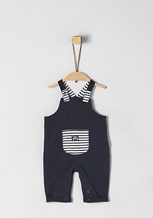 Comfortable sweatshirt dungarees from s.Oliver