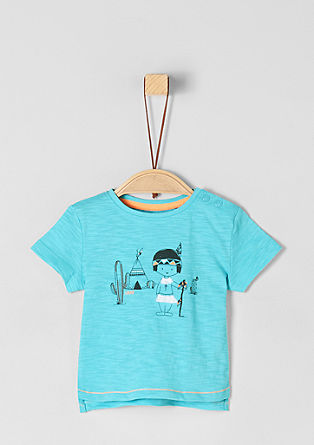 T-shirt with a print from s.Oliver