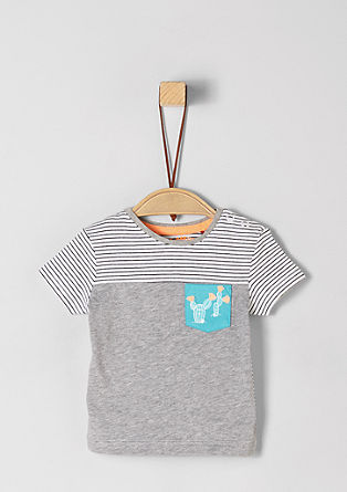 T-shirt with artwork from s.Oliver