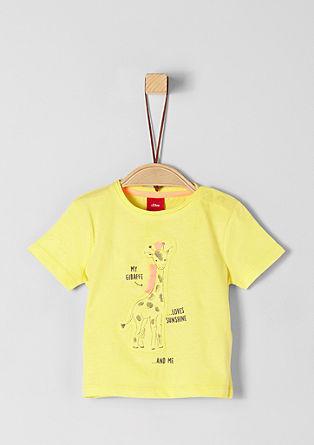 Majica iz džersija z umetniško aplikacijo