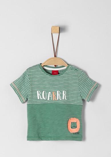 T-Shirt mit Fransendetail