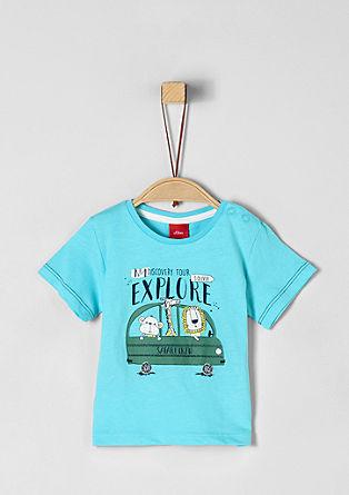 Žerzejové tričko se safari potiskem