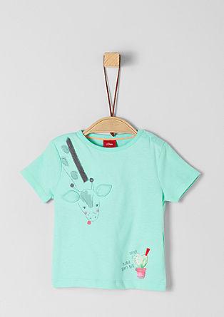 Jerseyshirt mitGiraffen-Artwork
