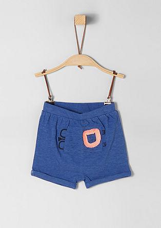 Bermuda hlače z umetnino