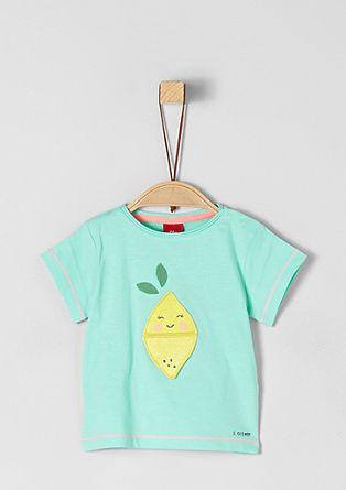 Majica iz džersija z aplikacijami