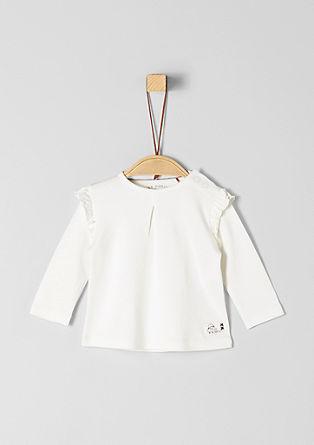 T-shirt à manches longues orné de ruches de s.Oliver