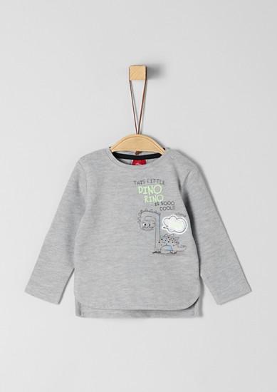 T-shirt à manches longues en maille jersey de s.Oliver