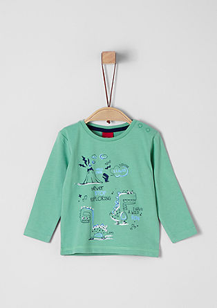 Long sleeve top with a dinosaur print from s.Oliver