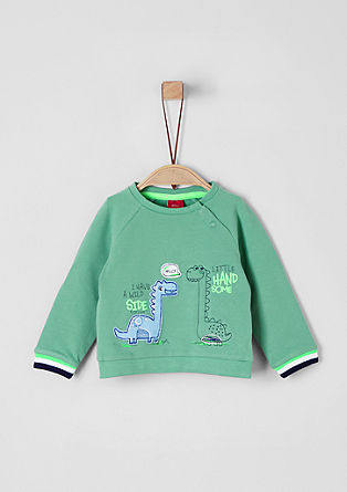 Sweatshirt with fun artwork from s.Oliver