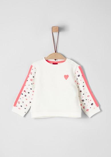 Sweatshirt mit Neon-Details