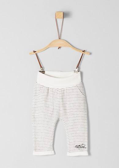 Jerseypants mit Streifen