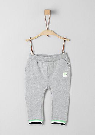 Sweatpants mit Neon-Details